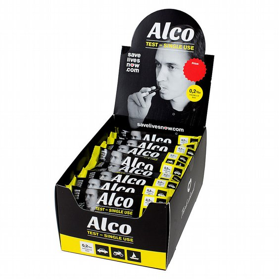 Alco, alkoholtest engångs 1-pack 2