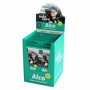 Alco, alkoholtest engångs 2-pack 2 thumbnail
