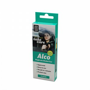 Alco, alkoholtest engångs 2-pack thumbnail
